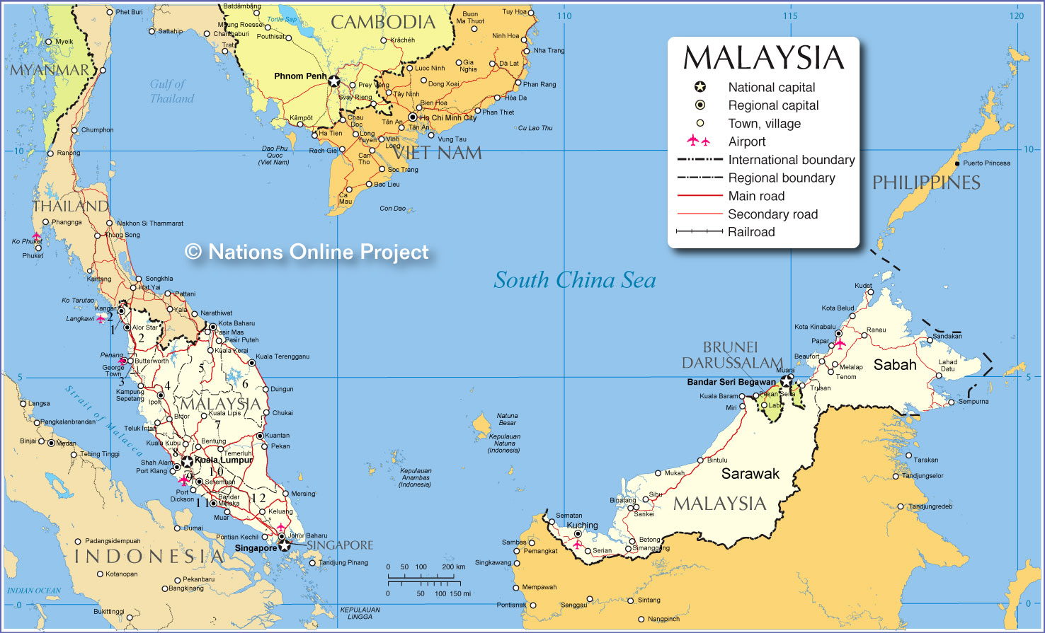 About the country of malaysia